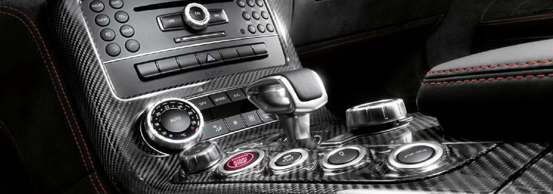 mercedes sls amg black series dashboard